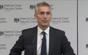 Speech by NATO Secretary General at the Cyber Defense Pledge Conference