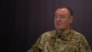 Brigadier General Daniel Heires Speaks on Northern Edge 19