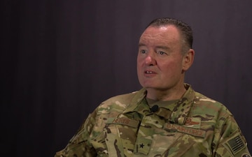 Brigadier General Daniel Heires Speaks on Northern Edge 19
