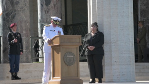 Memorial Day 2019 Sicily-Rome American Cemetery - Rear Admiral Timothy J. Kott speech