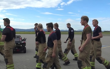Arctic Challenge 2019 Firefighters and Crew Chiefs Train Together