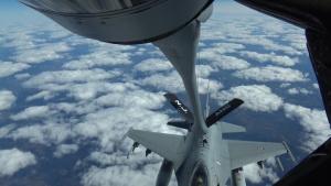Arctic Challenge 2019 F-16s ReFuel