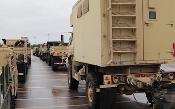 Convoy operations for Immediate Response 19