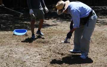 Iwakuni Sailors, Marines volunteer to help farm (B-Roll)