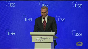 Acting Defense Secretary Speaks at Shangri-La Dialogue