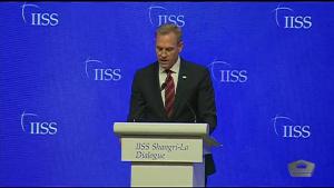 Acting Defense Secretary Speaks at Shangri-La Dialogue