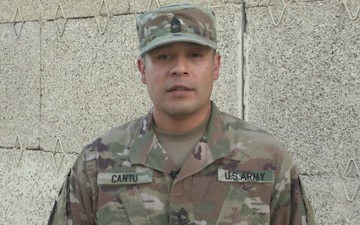 Master Sgt. David Cantu Fathers Day Shoutout