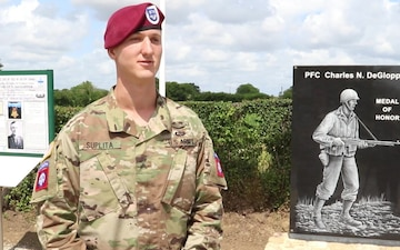 Cpl. Tanner Suplita D-Day 75 Commemoration Interview