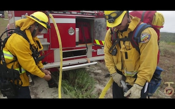 Turn Up the Heat: Marine Corps Base Camp Pendleton Fire Department Hosts the 2019 Interagency Fire School