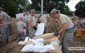 Guard Airmen support Missouri flood response