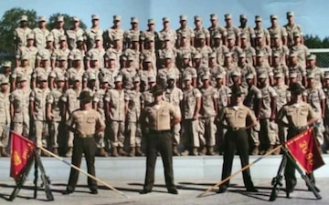 Marine Reservist Becomes Officer, Aspires to Lead Marines