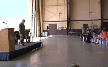 Cannon AFB Medical Group Change of Command
