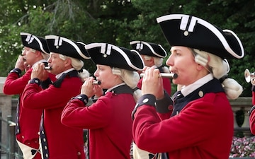 Fife and drum Corp at Tomb of The Unknown Soldier