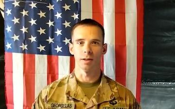 Father's Day Shoutout: 2d Lt. Thomas Georgelas
