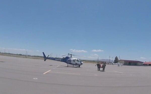 CBP Airlifts Unconscious Man