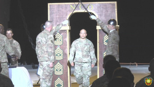 1TSC NCO Induction Ceremony