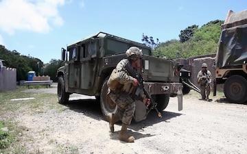 MWSD-24 conducts convoy and engineer training