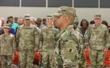Deployment Ceremony Held for Selected Soldiers of the 198th Expeditionary Signal Battalion