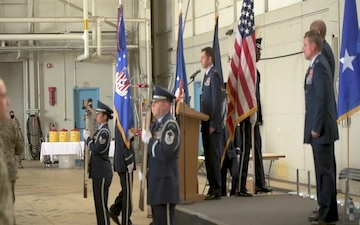 110th Wing Change of Command Ceremony