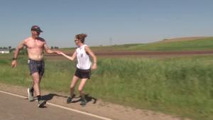 Team Iowa Guard Runs World's Longest Relay Iowa