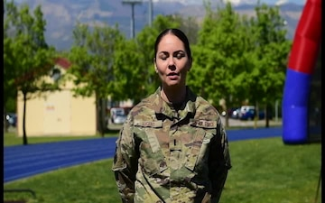 Independence Day Shout Out- 1st Lt. Danielle Lucero