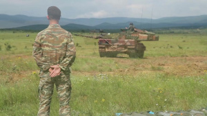 Hellenic Army Trains at Novo Selo Training Area during Strike Back 19