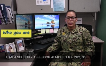 Faces of CNIC- Ensign Aretha Worthen