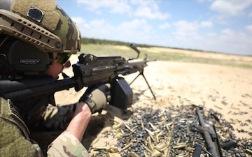 B-Roll: Special Warfare Airmen range training