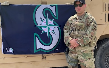 Seattle Mariners Shoutout - SSgt Delano Andres