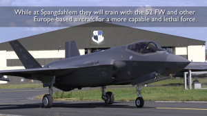 F-35A Lighting II's Arrive at Spangdahlem AB