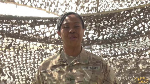 Father's Day Shoutout: Chief Warrant Officer 3 Brenda Myers