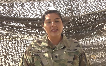 Father's Day Shoutout: Spc. Amber Agee