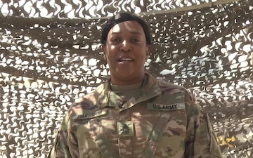 Father's Day Shoutout: Master Sgt. Temicia Harrison