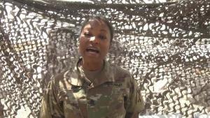 Father's Day Shoutout: Sgt. Maj. Terri Ussery-Hendrieth