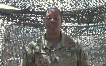 Father's Day Shoutout: Sgt. Sharmaniik Lawson