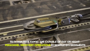 56 RQS helos head downrange