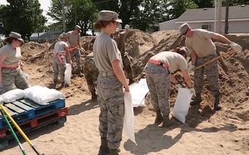 Floodwater Response in Norborne Missouri