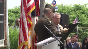 Staff Sgt Michael Ollis Distinguished Service Cross Ceremony b-roll