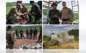 EODMU-5, RTN Participate in Knowledge Exchanges During CARAT 2019