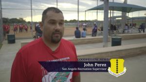 Goodfellow vs San Angelo Softball Game