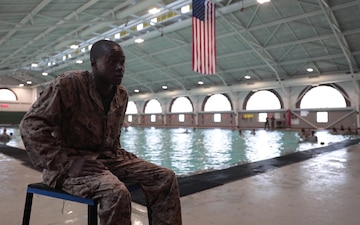 Second Chances- Recruit Returns to Recruit Training to Pass Swim Qualification