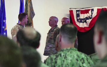 449th Air Expeditionary Wing Change of Command Ceremony
