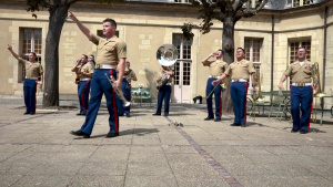 1st Marine Division Band Tours France