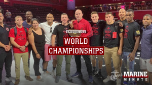 Marine Minute: Wrestling World Championship