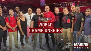 Marine Minute: Wrestling World Championship