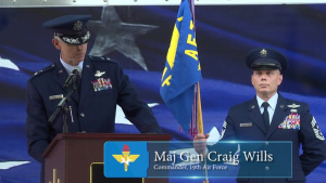 19th Air Force Change of Command