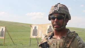 Iron Rangers conduct Advance Rifle Marksmanship
