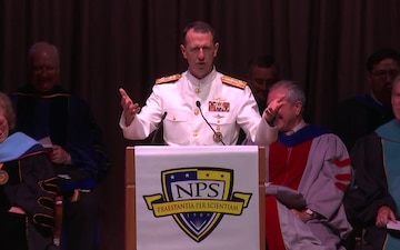 Naval Postgraduate School Spring Quarter Graduation