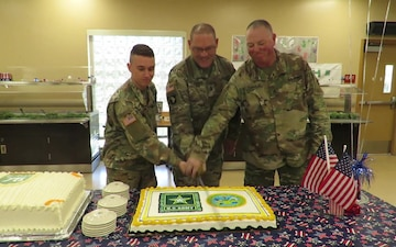 Army Birthday Greetings From Fort Hunter Liggett