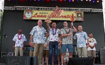 Army Birthday Luau Celebration